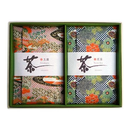 玉露と特上煎茶のギフトセット『粋』 【送料無料】