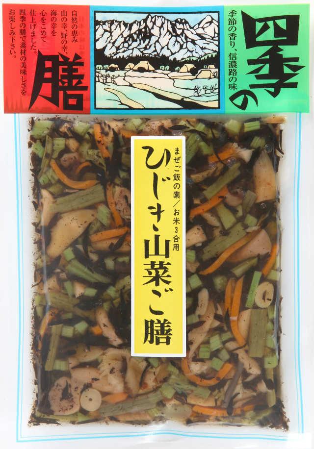 ご膳 ひじき山菜