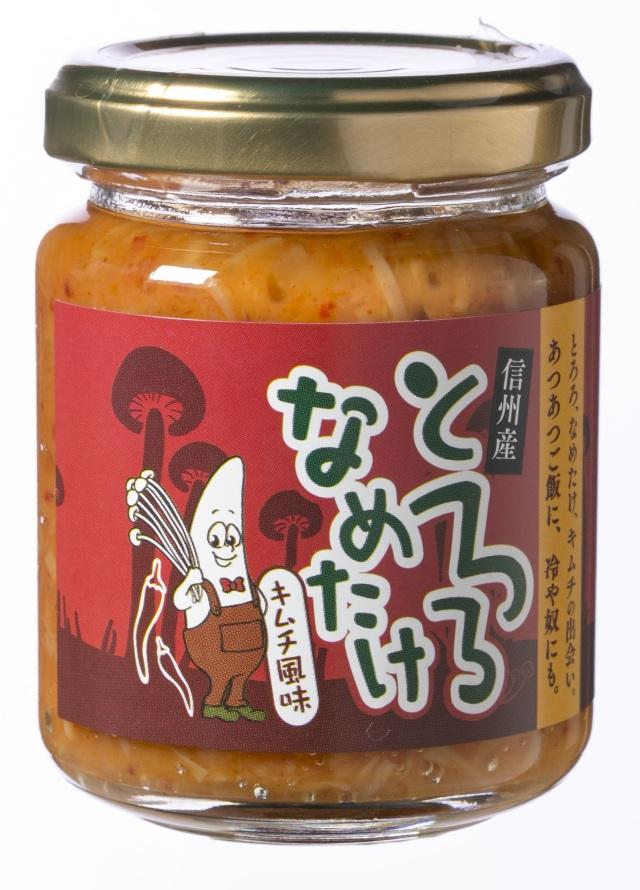 信州産とろろなめ茸 キムチ風味