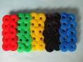 ボビン 本縫いミシン用 (カラープラスチック) (50個入り)