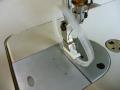 NTR-R リング押え(右が針落ち左がリング)