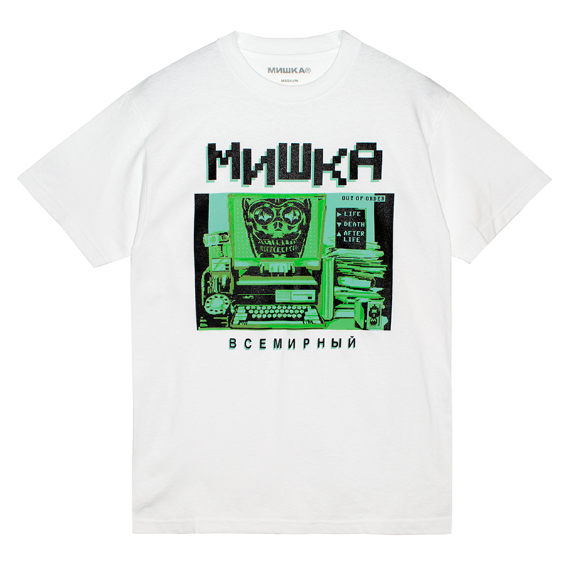 INCOMING TRANSMISSIONS TEE (WHITE/76916WHT)