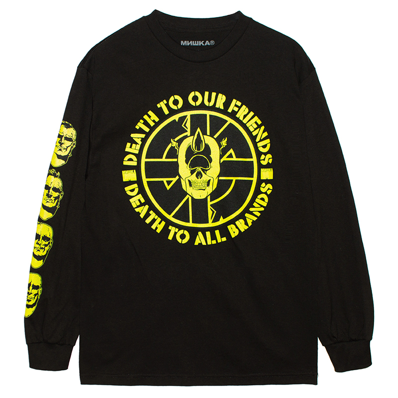 DEATH TO ALL L/S TEE (BLACK/76974BLK)