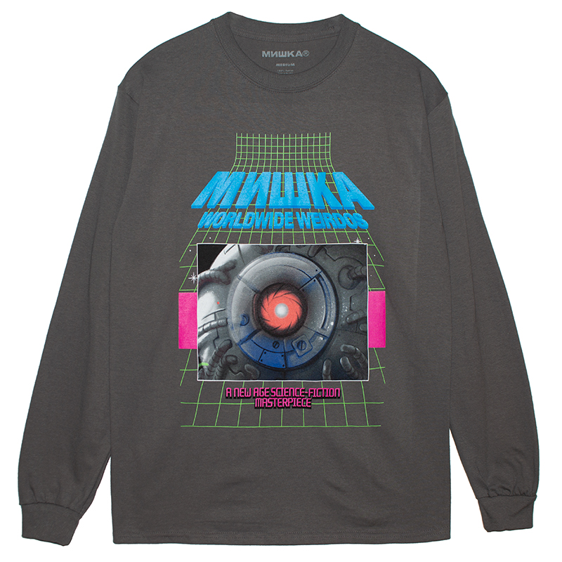 SCANNING COMPLETE L/S TEE (CHARCOAL/76976CHL)