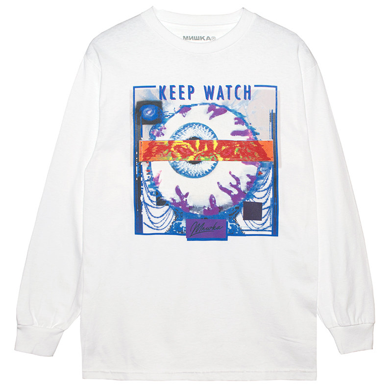 GIBSON EFFECT L/S TEE (WHITE/76979WHT)