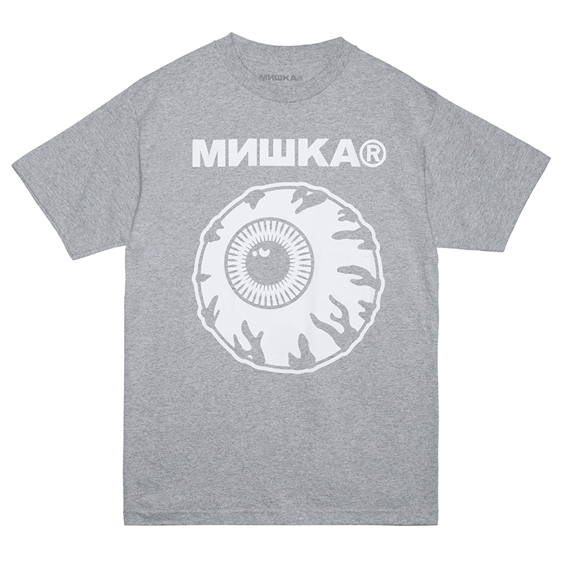 MONO STACK TEE (H.GREY/76984GRY)