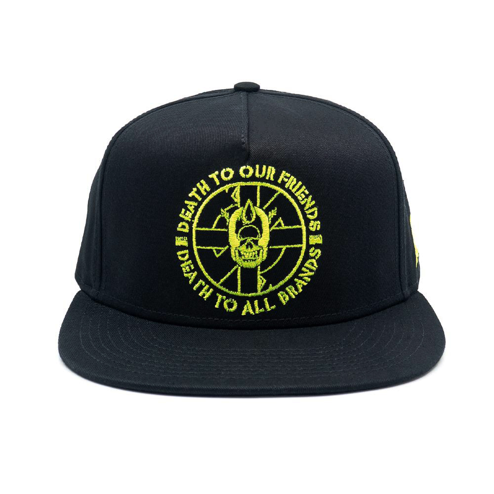 DEATH TO ALL SNAPBACK (BLACK/77004)
