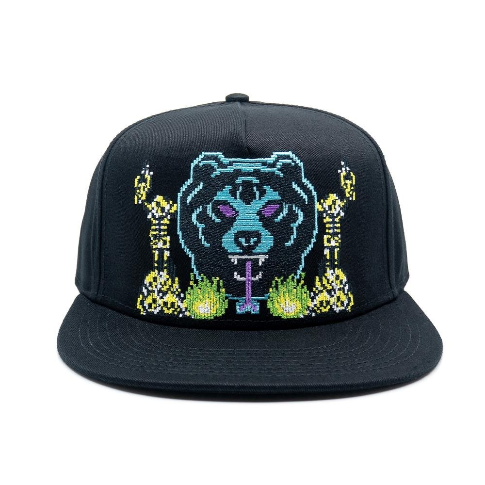 8-BIT ADDERS SNAPBACK (BLACK/77005)