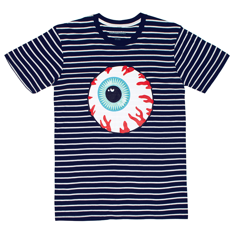 KEEP WATCH STRIPE TEE (NAVY/90870NVY)