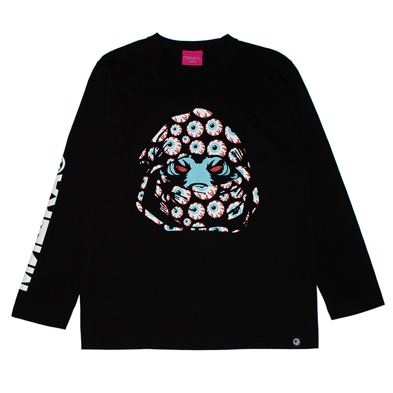 SECRET SOCIETIES L/S TEE (BLACK/91543BLK)