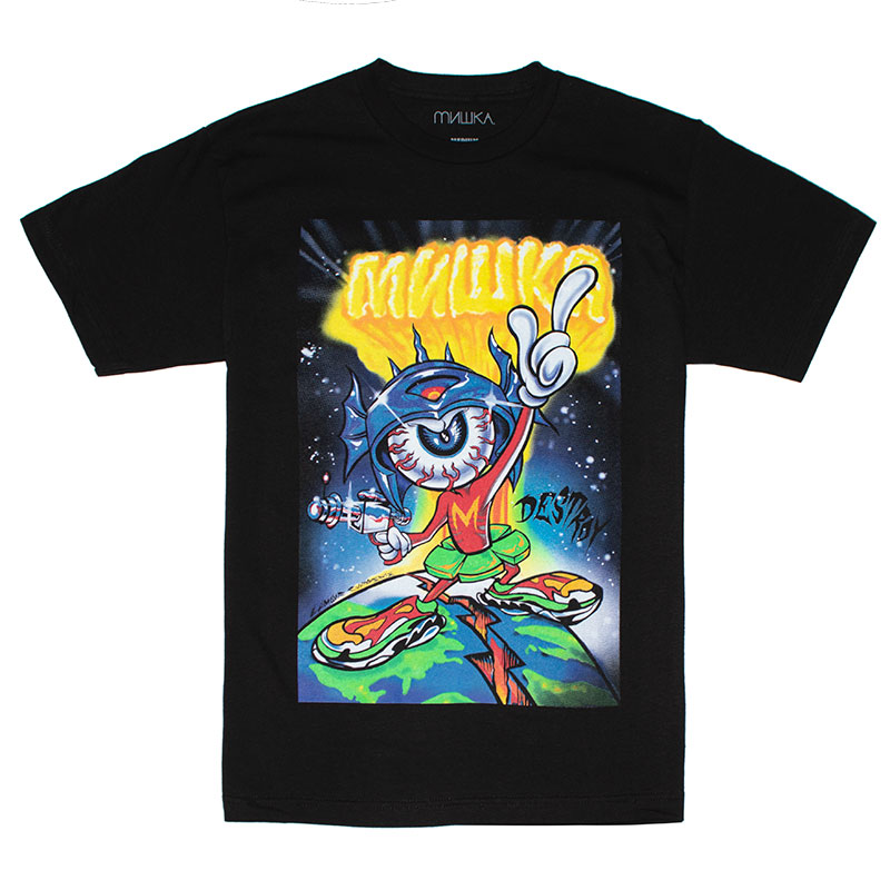 LAMOUR MISHKA THE MARTIAN TEE (BLACK/FW181302)