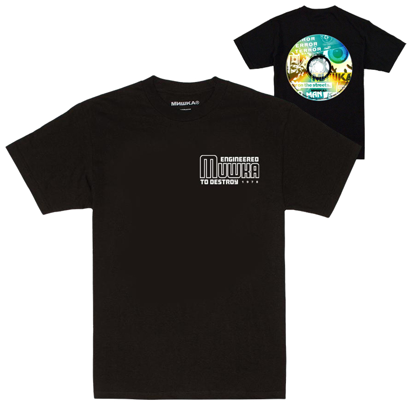MIXTAPE TEE (BLACK/FW191005BLK)