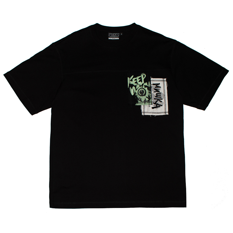 Re STYLE TEE (BLACK/M21000006BLK)