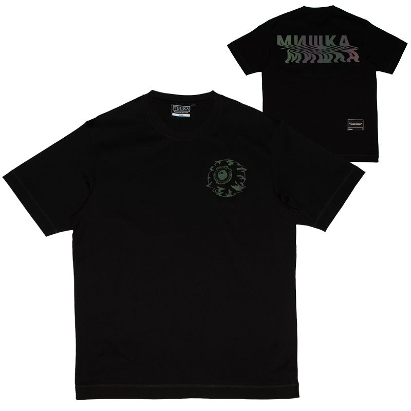 REFLECTOR NOISE KEEP WATCH TEE (BLACK/M21000028BLK)