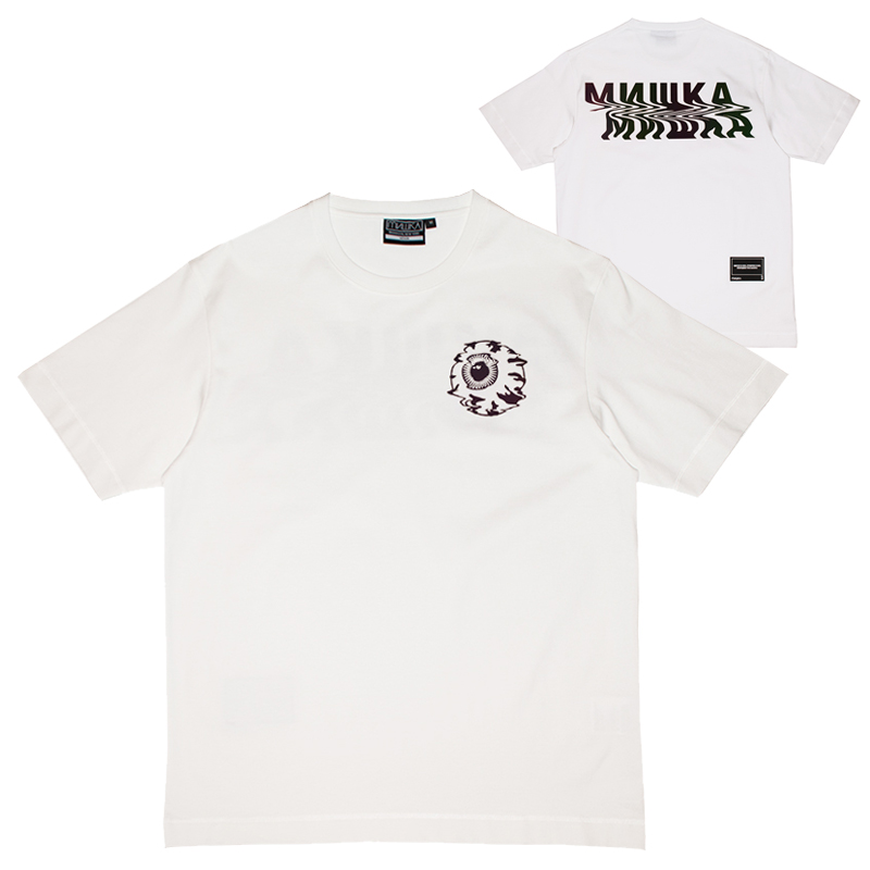 REFLECTOR NOISE KEEP WATCH TEE (WHITE/M21000028WHT)