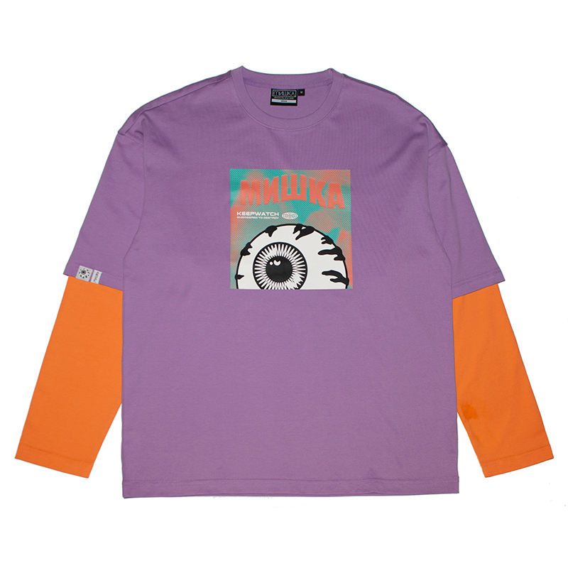 HOBO POEM L/S TEE (PURPLE/M21000062PPL)
