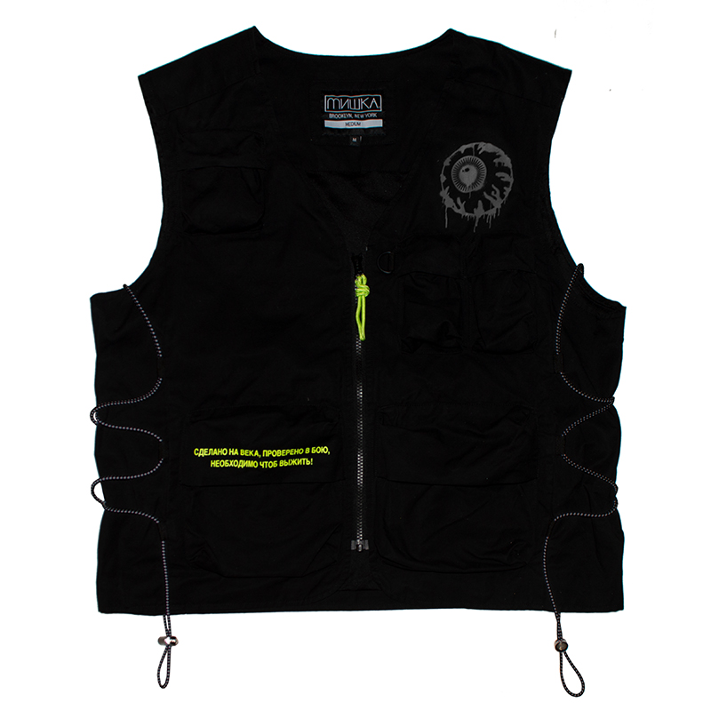 K.W TACTICAL VEST (BLACK/M21000104)