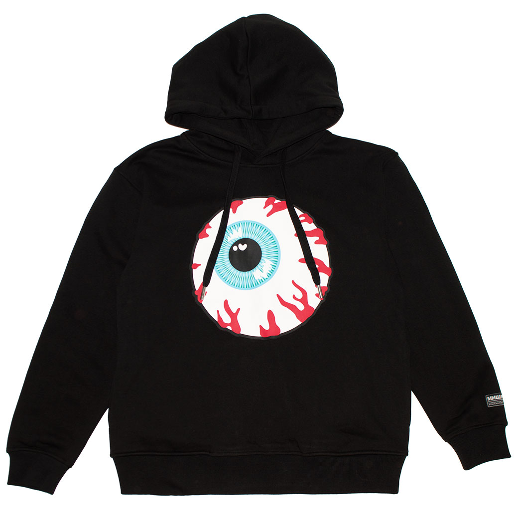 KEEP WATCH TOKEN HOODIE (BLACK/MAW180407BLK)