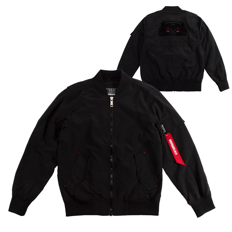 WEIRD EYE D.A JACKET (BLACK/MAW180505)
