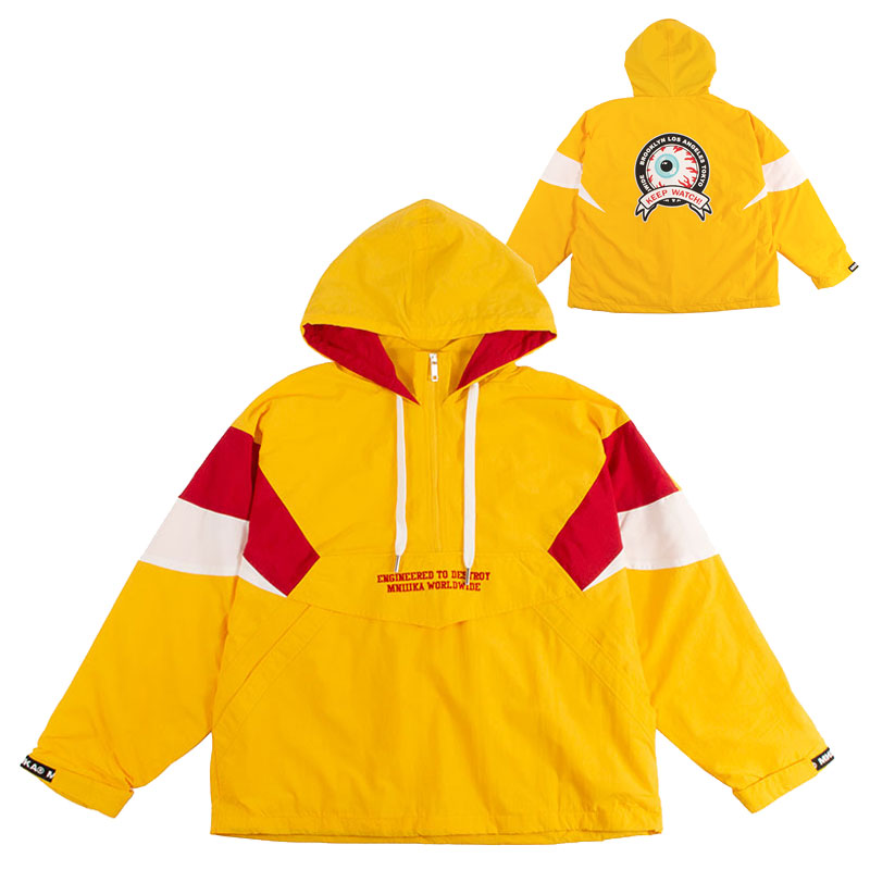 REGION OF K.W ANORAK JACKET (YELLOW/MAW180508YLW)