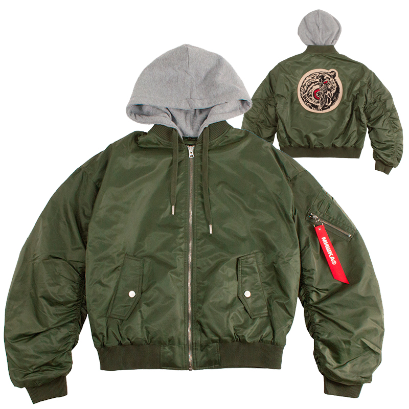 CHIMERA ICON FLIGHT JACKET (OLIVE/MAW180606OLV)