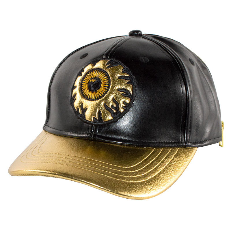 KEEP IT GOLD STRAPBACK CAP (BLACK/MAW183221)