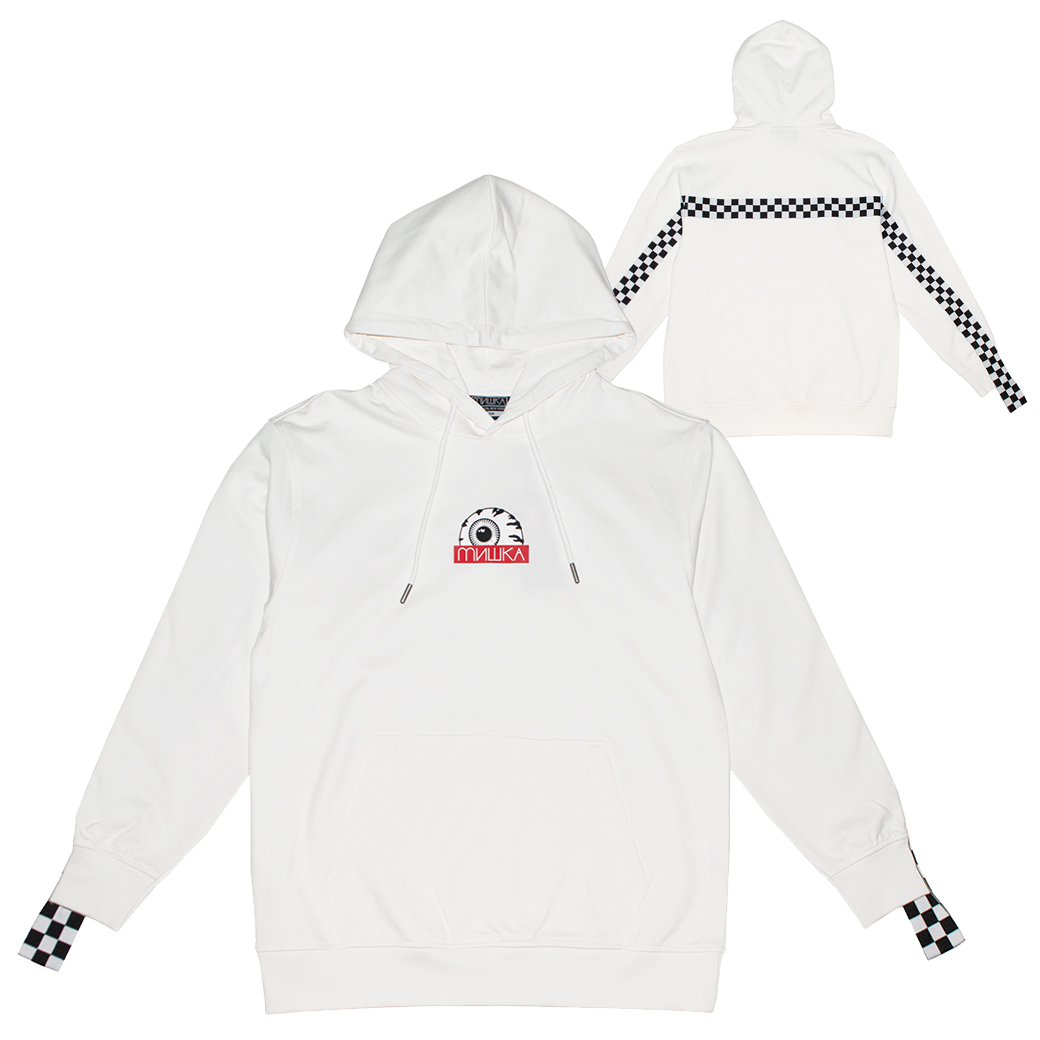 ETD FORMULA PULLOVER HOODIE (WHITE/MAW190436WHT)