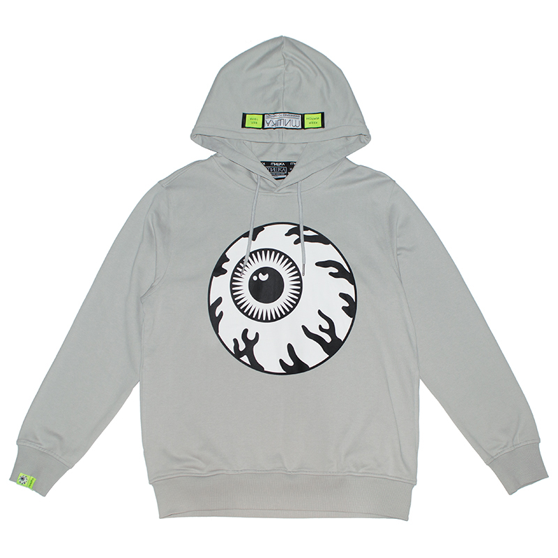 MONOCHROME KEEP WATCH HOODIE (GREY/MAW190480GRY)