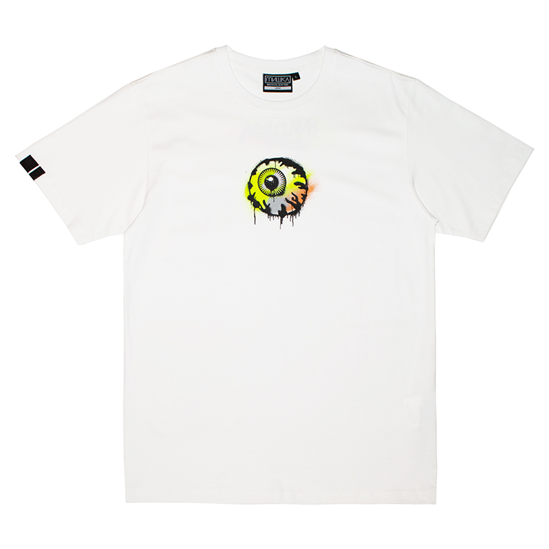 K.W SPRAY-PAINT TEE (WHITE/MAW200001WHT)