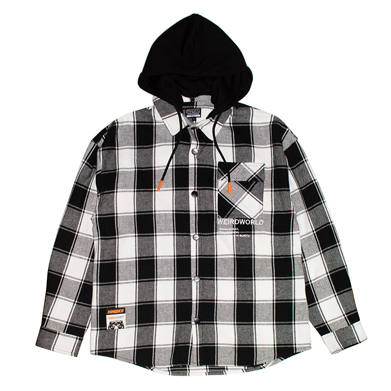 ABERDEEN FLANNEL SHIRT (BLACK/MAW200271)