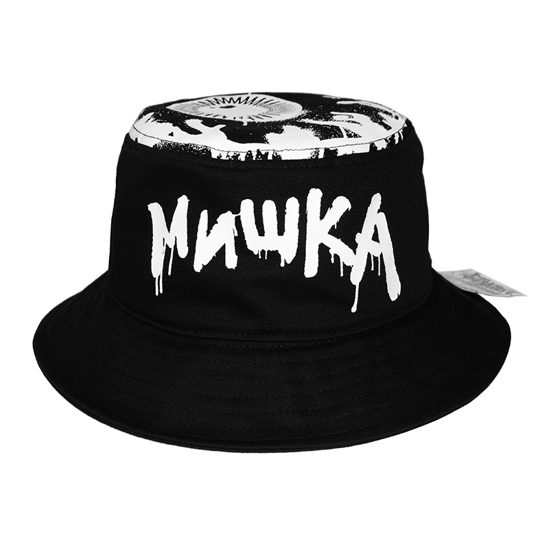 LOGO PAINT BUCKET HAT (BLACK/MAW203216)
