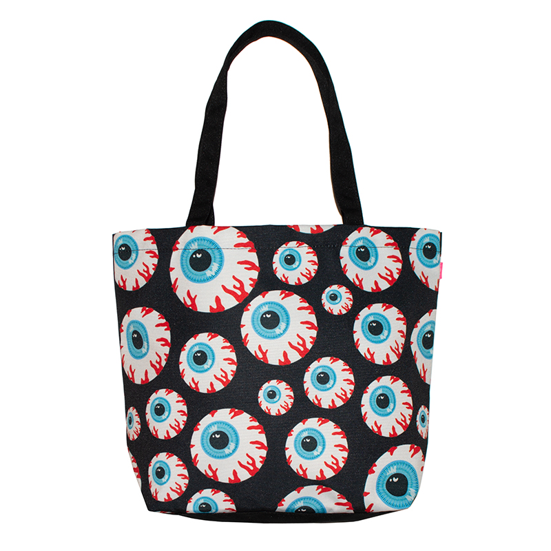 ALL OVER KEEP WATCH TOTE BAG (MSJ-TB1)