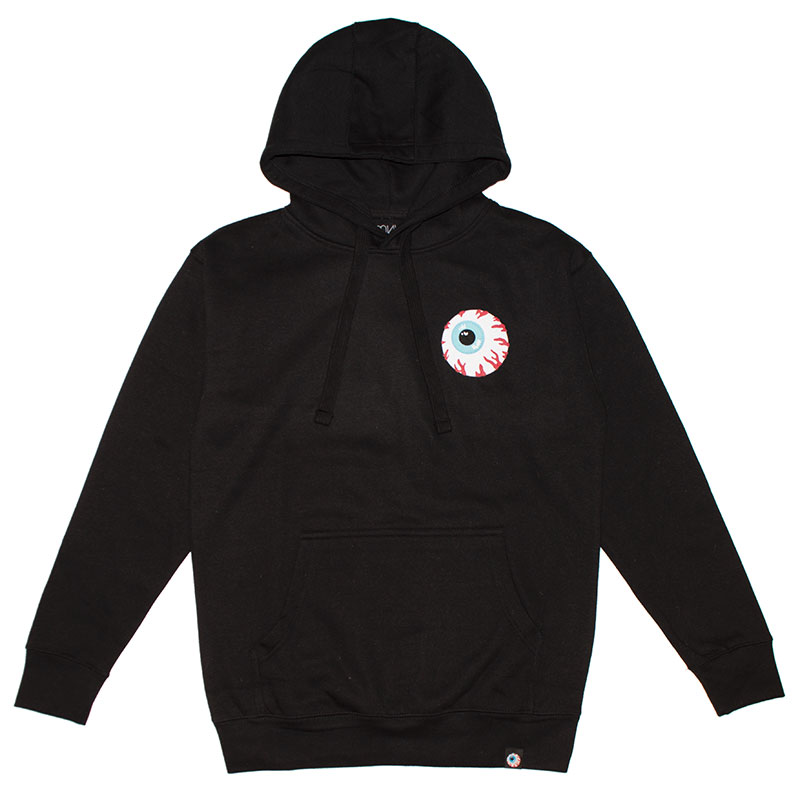 MISHKA BASIC: KEEP WATCH HOODIE [M/2XL] (BLACK/MSKBC1HBLK1)