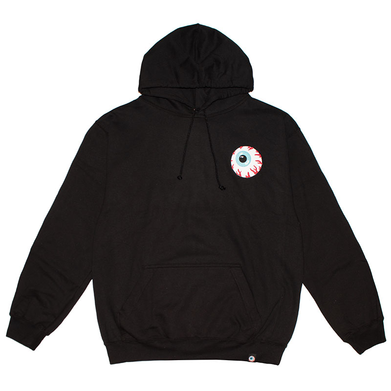 MISHKA BASIC: KEEP WATCH HOODIE [L/XL] (BLACK/MSKBC1HBLK2)