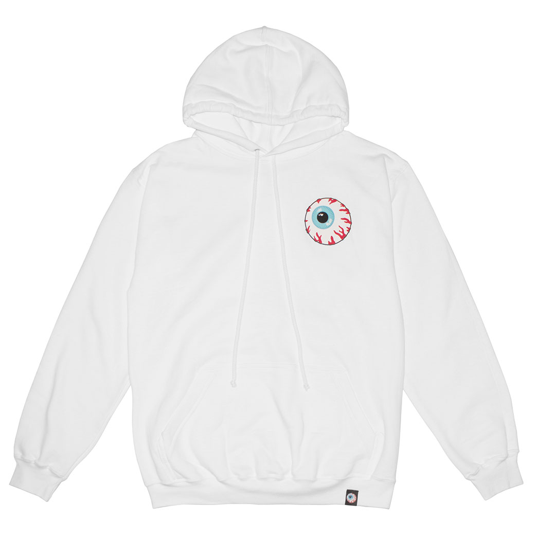 MISHKA BASIC: KEEP WATCH HOODIE (WHITE/MSKBC1HWHT)