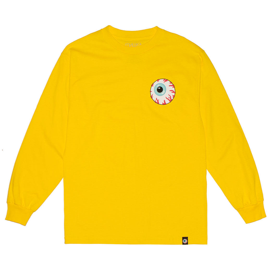 MISHKA BASIC: KEEP WATCH L/S TEE (YELLOW/MSKBC1LYLW)