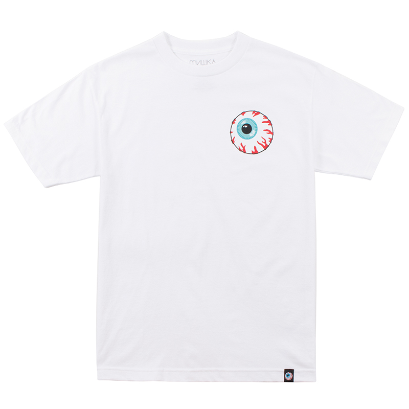 MISHKA BASIC: KEEP WATCH TEE (WHITE/MSKBC1TWHT)