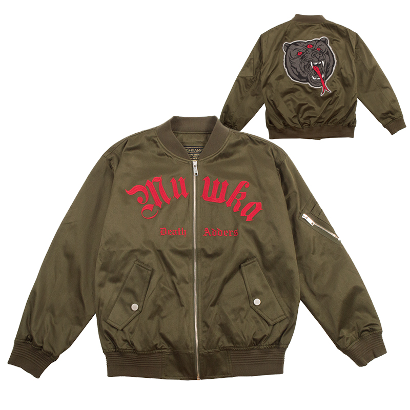 DEATH ADDERS MA-1 JACKET (OLIVE/MSS180516)