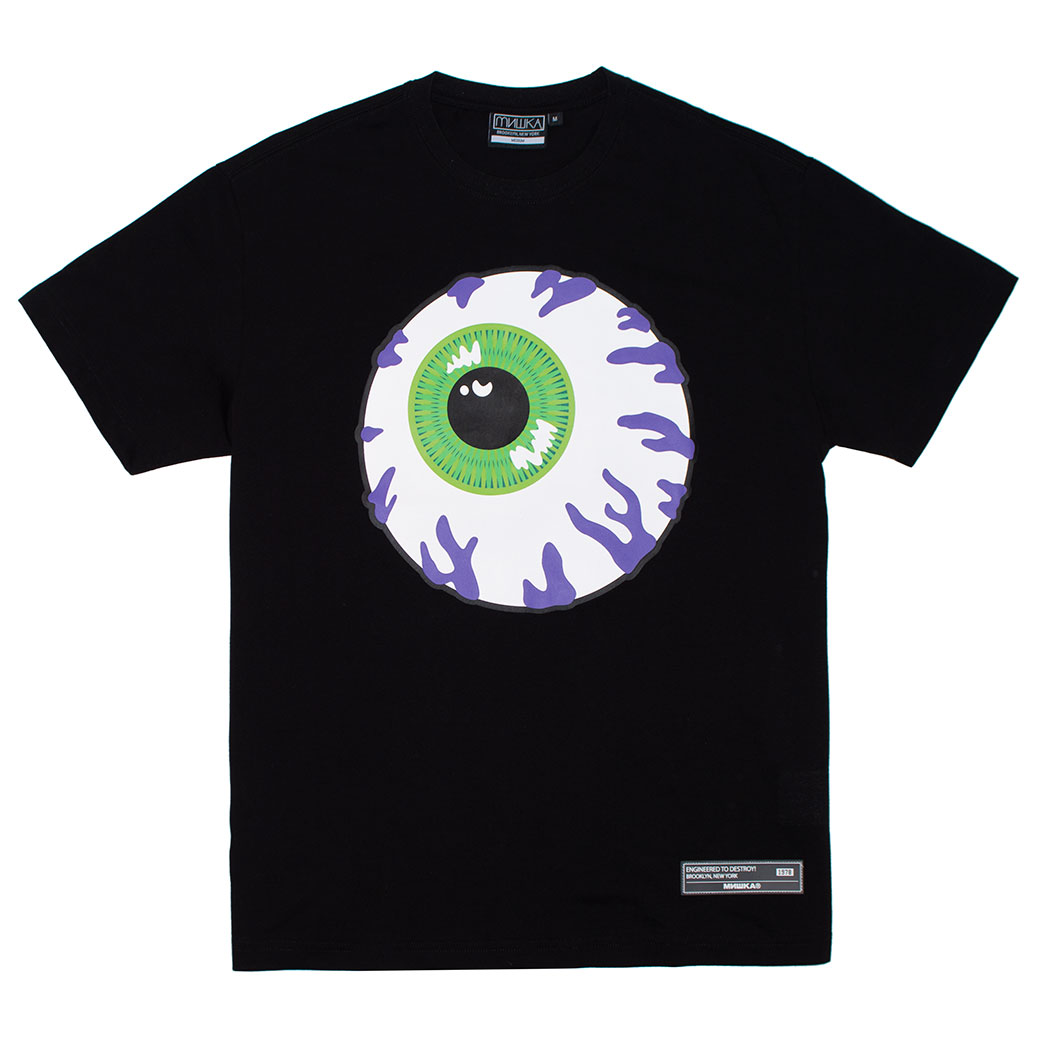 PURPLE CONGESTION TEE (BLACK/MSS190032BLK)