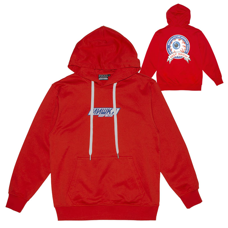MISHKA SNICER HOODIE (RED/MSS190403RED)