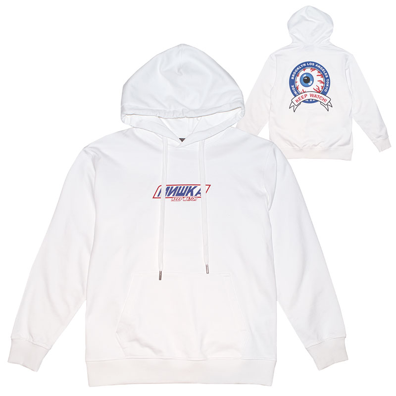 MISHKA SNICER HOODIE (WHITE/MSS190403WHT)