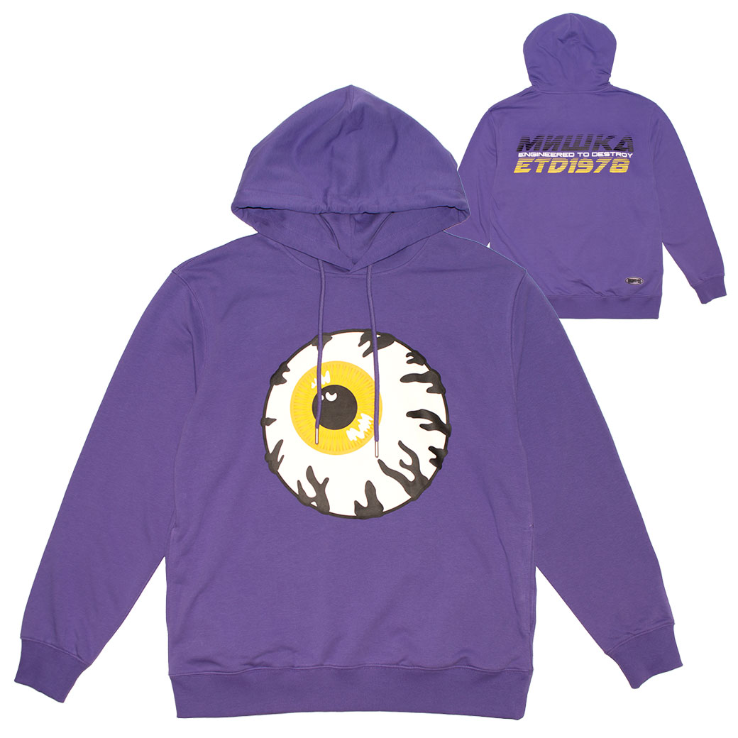 PURPLE CONGESTION HOODIE (PURPLE/MSS190434PPL)