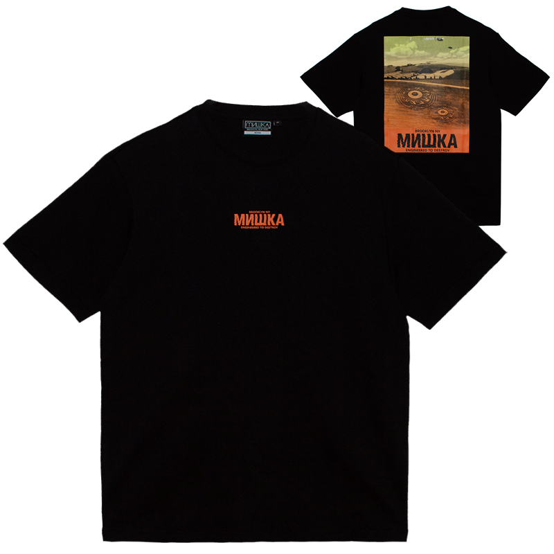 CROP CIRCLE TEE (BLACK/MSS200006BLK)