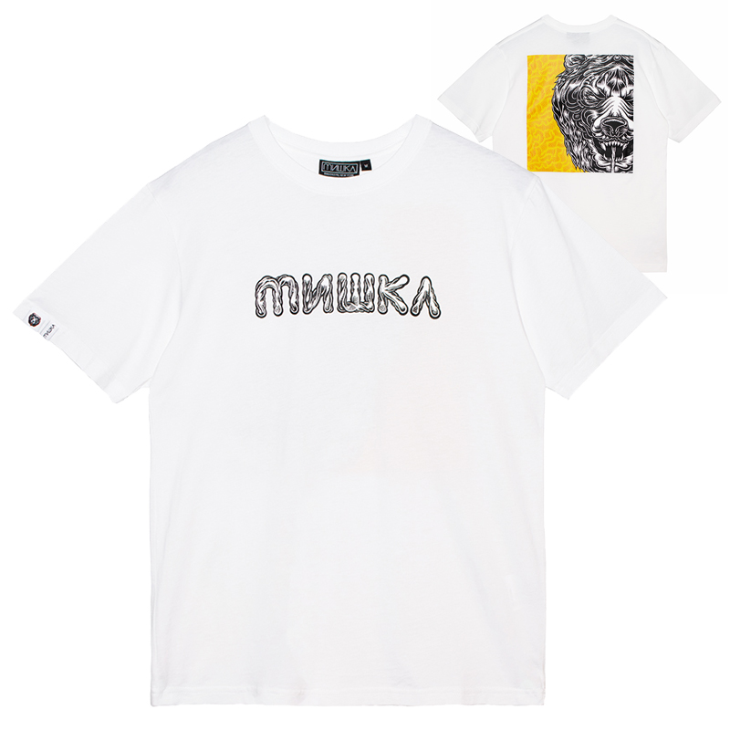 MARK DEAN VECA BOX DEATH ADDERS TEE (WHITE/MSS200088WHT)