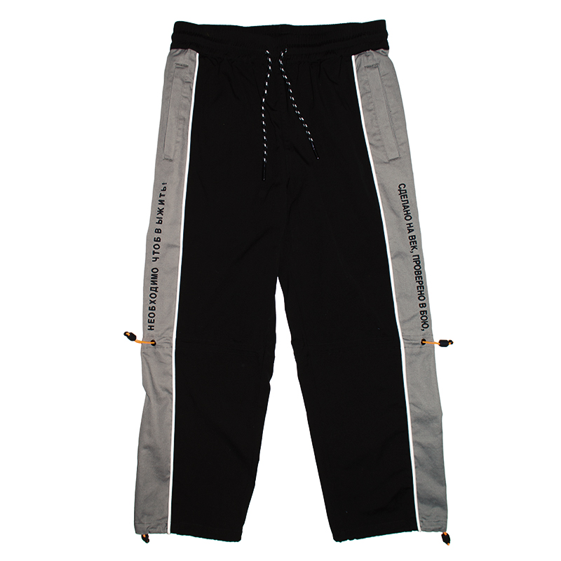 SIDE SWITCHED PANT (BLACK/MSS200807BLK)