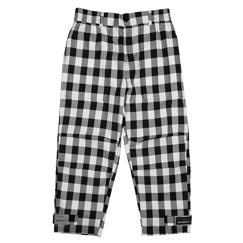 BLOCK CHECK PANT (MSS200855)