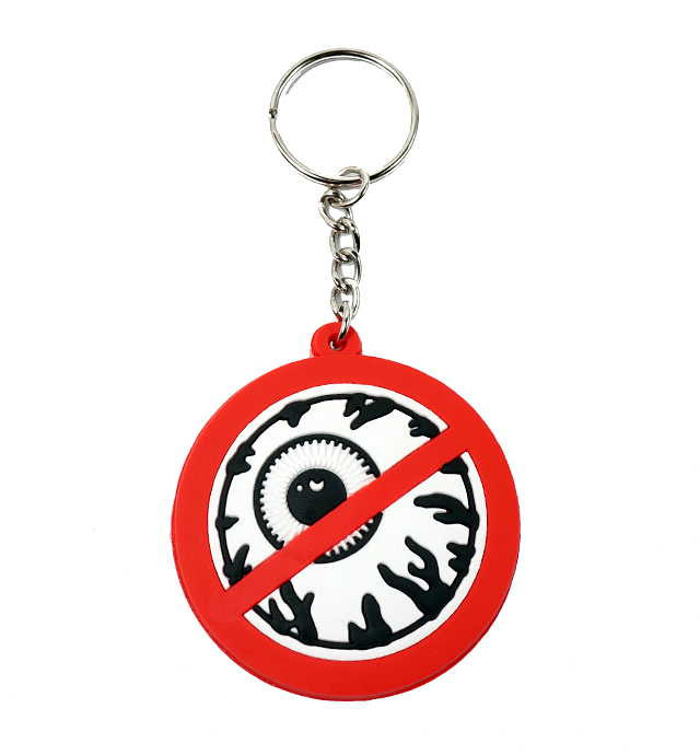 BLIND SPOPT RUBBER KEYCHAIN《Red/SP152013A》