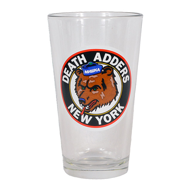 PINT GLASS《THROWBACK ADDERS》