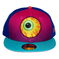 MY PET MISHKA KEEP WATCH 2.0 NEW ERA 5950 FITTED CAP (MULTI/75820)