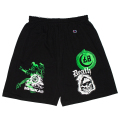 DEATH SKULL SHORTS (BLACK/75932BLK)